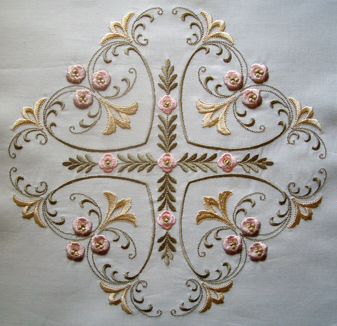 Cinnamon Serenade | Creative Ideas for Editing Embroidery Designs : stamped quilt blocks - Adamdwight.com